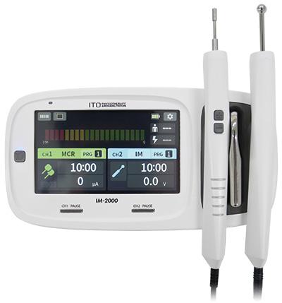 低周波治療器・治療点検索測定器組合せ理学療法機器「イトー IM-2000」