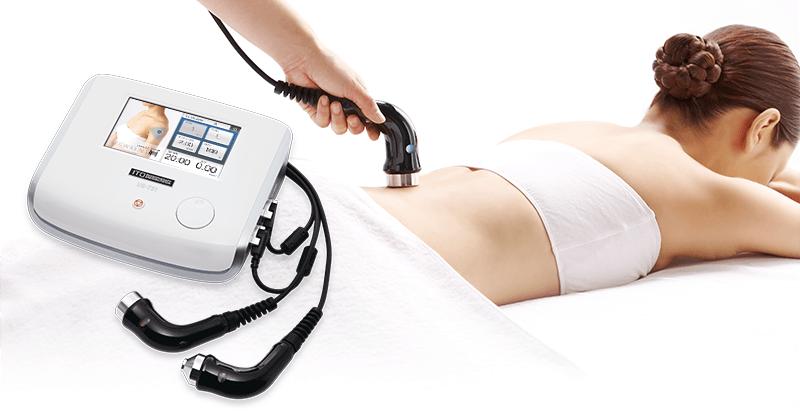 <US-711>厚い筋肉や脂肪層の奧の深い疾患部に。